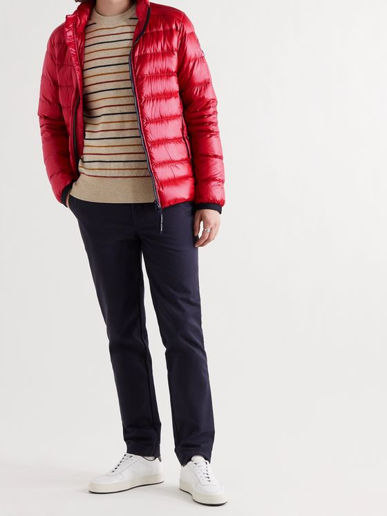 CANADA GOOSE Crofton Slim-Fit Quilted Recycled Nylon-Ripstop Down Jacket