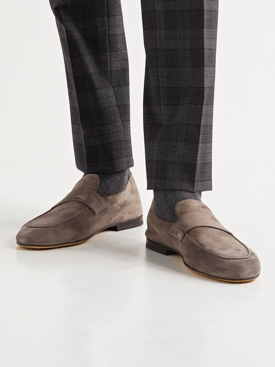OFFICINE CREATIVE Airto Suede Loafers