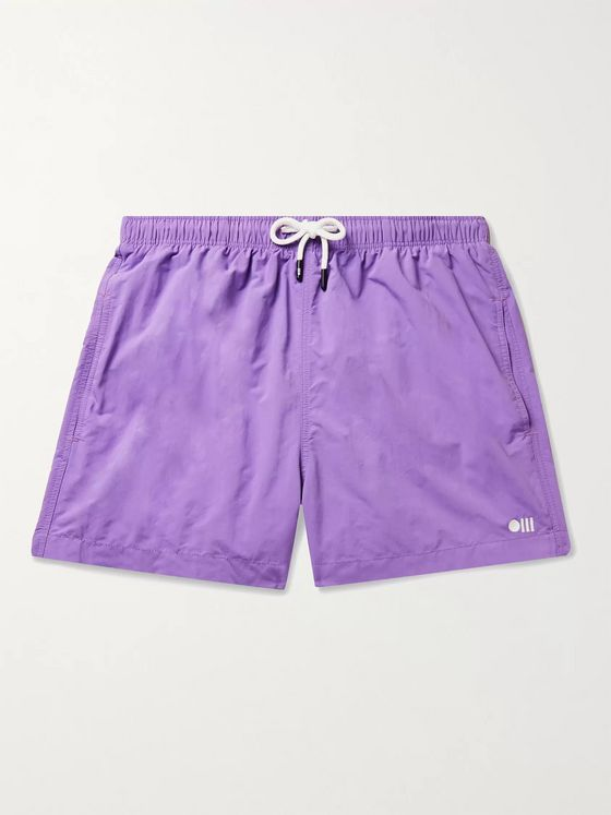 Solid & Striped The Classic Mid-Length Swim Shorts