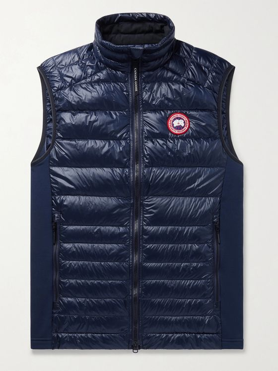 CANADA GOOSE Hybridge Lite Slim-Fit Quilted Shell Down Gillet