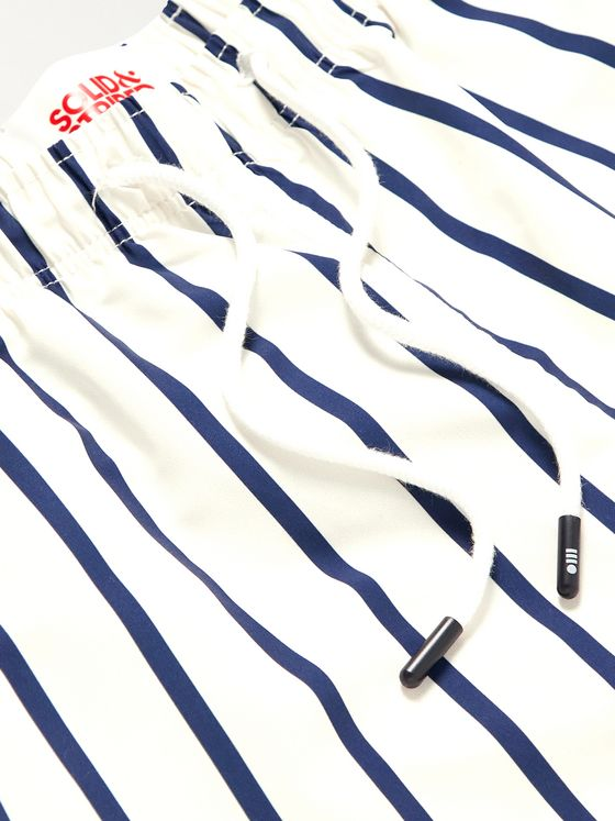 Solid & Striped The California Long-Length Printed Swim Shorts