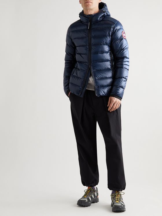 CANADA GOOSE Crofton Slim-Fit Recycled Nylon-Ripstop Hooded Down Jacket