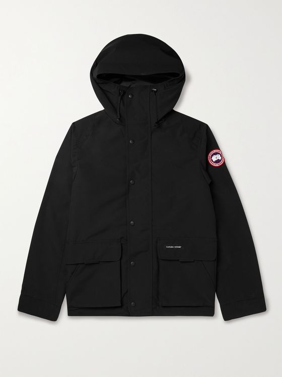 CANADA GOOSE Lockerport Arctic Tech Shell Hooded Jacket