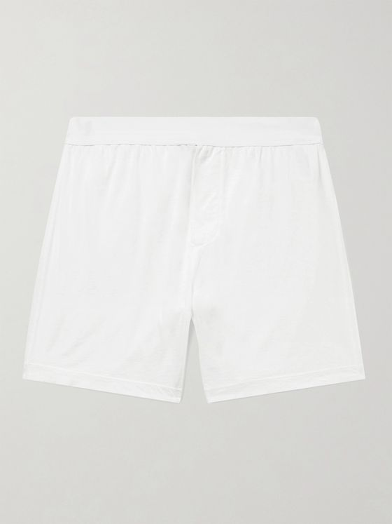 JAMES PERSE Relaxed Elevated Lotus Jersey Boxer Briefs