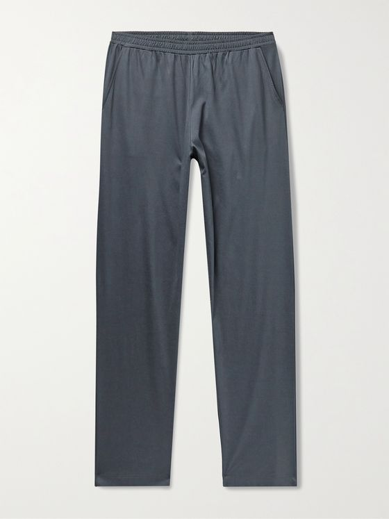 ZIMMERLI Mercerised SUPREME GREEN COTTON Pyjama Trousers