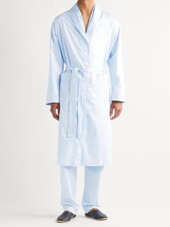 ZIMMERLI Cotton-Jacquard Robe