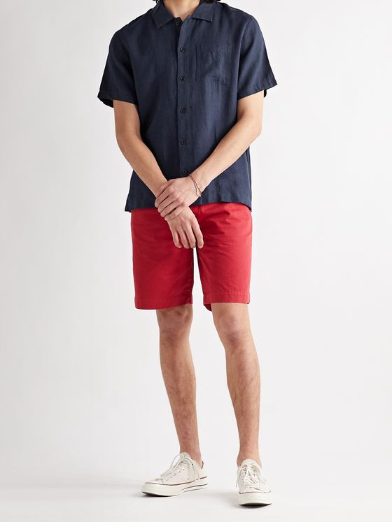 Solid & Striped Cabana Linen Shirt