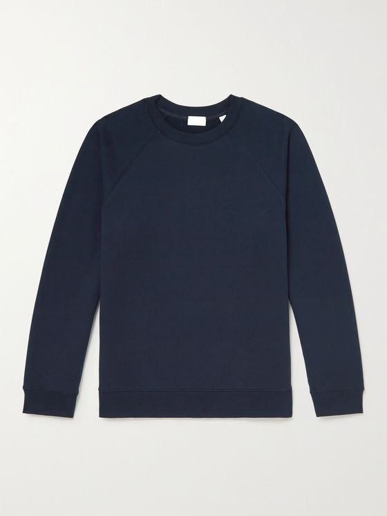 HANDVAERK Loopback Cotton-Jersey Sweatshirt