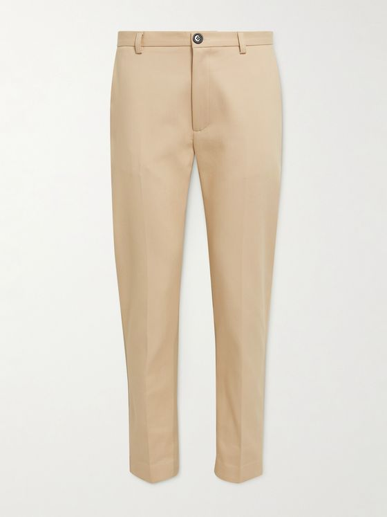 SÉFR Harvey Slim-Fit Cotton-Blend Trousers