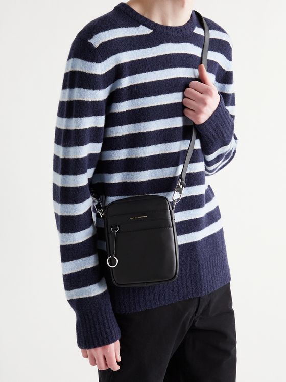 WANT LES ESSENTIELS Reagan Leather Messenger Bag