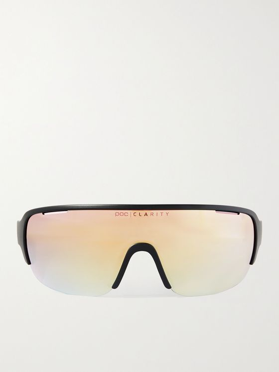 POC DO Half Blade Mirrored Cycling Sunglasses