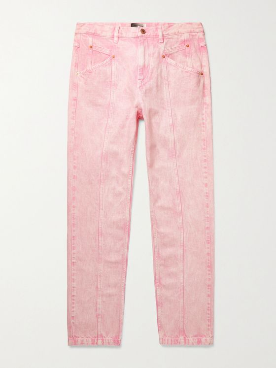 ISABEL MARANT Jackomosr Washed-Denim Jeans