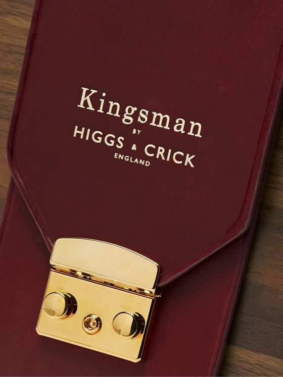 Kingsman + Higgs & Crick Lead Crystal Decanter and Glass Set