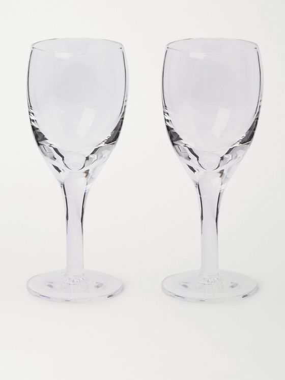 KINGSMAN + Higgs & Crick Set of Two Crystal Port Glasses