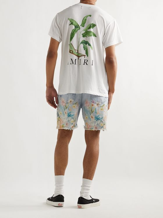 AMIRI Printed Cotton-Jersey T-Shirt