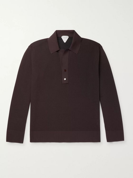 Bottega Veneta Piqué Polo Shirt