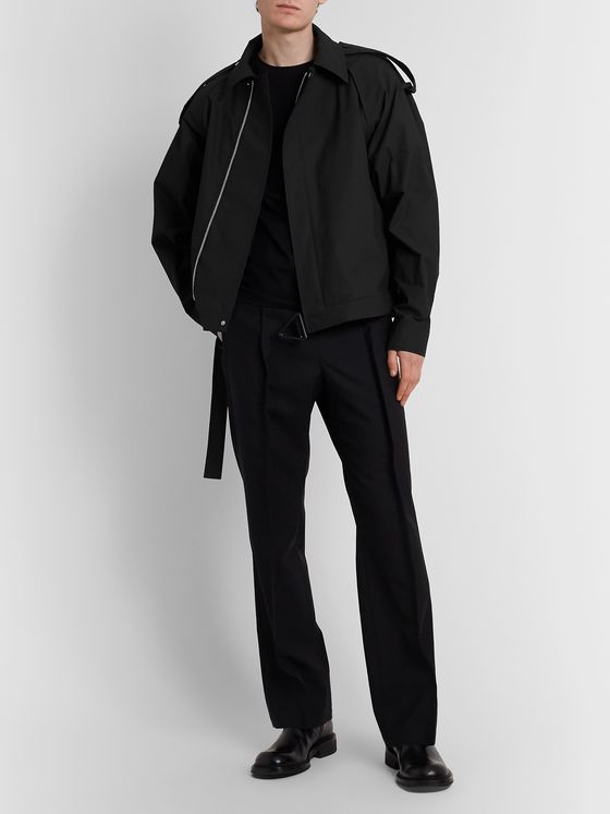 Bottega Veneta Coated Cotton-Blend Twill Blouson Jacket