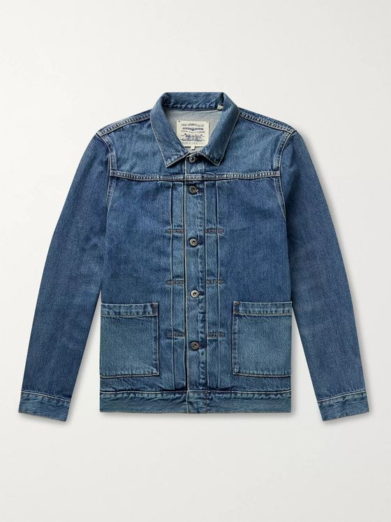 Levi's Made & Crafted Type 11 Washed-Denim Trucker Jacket