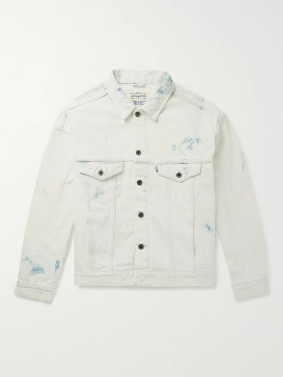 Levi's® Made & Crafted® Type 3 Oversized Tie-Dyed Denim Trucker Jacket