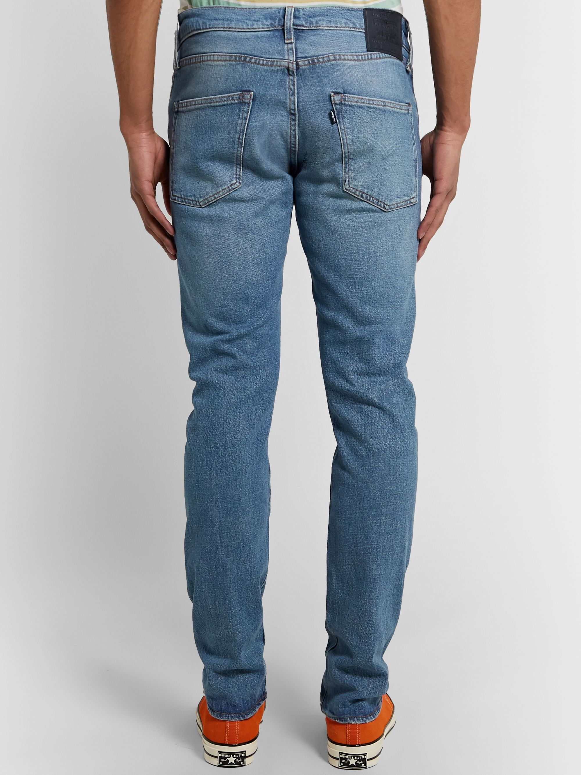 Levi's Made & Crafted 511 Slim-Fit Selvedge Stretch-Denim Jeans