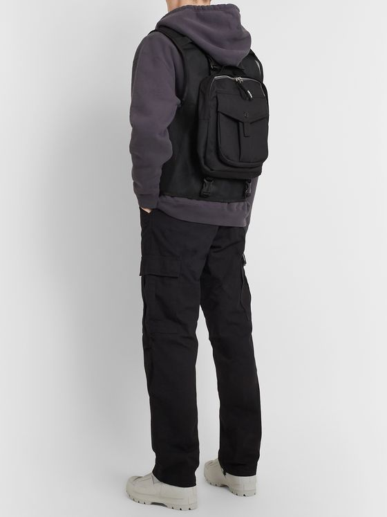 Neighborhood Hunger Nylon and Mesh Cargo Vest