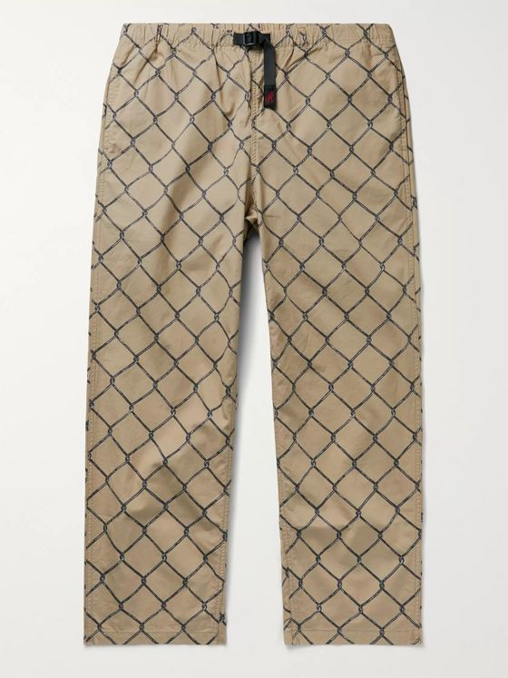 Neighborhood + Gramicci Printed Cotton Trousers