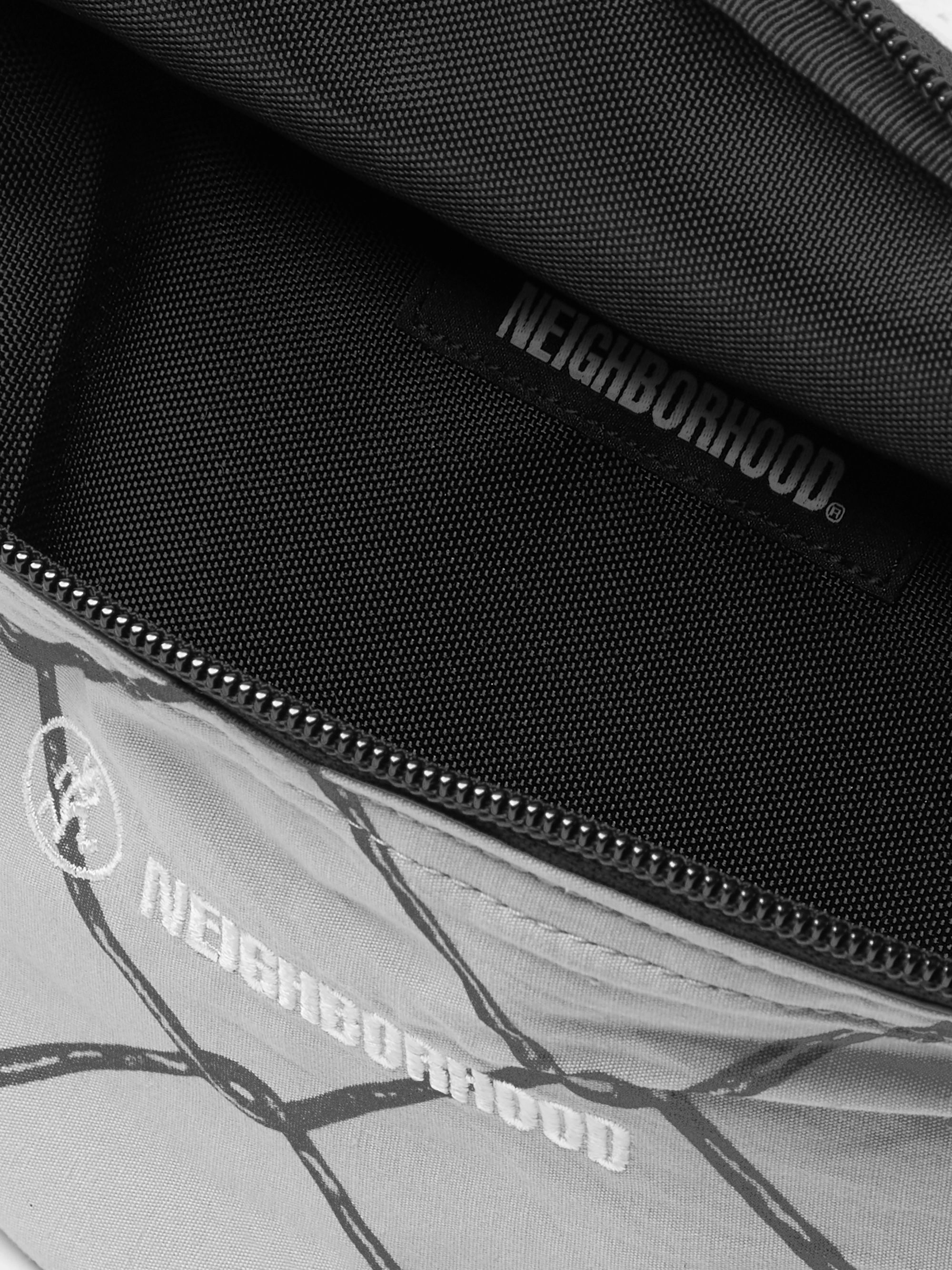 Neighborhood + Gramicci Logo-Embroidered Printed Canvas and Mesh Belt Bag