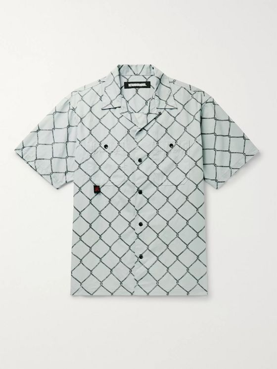 NEIGHBORHOOD + Gramicci Camp-Collar Printed Cotton Shirt