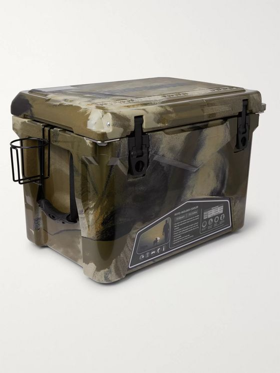 Neighborhood + Iceland Coolers 30L Camouflage Cooler Box