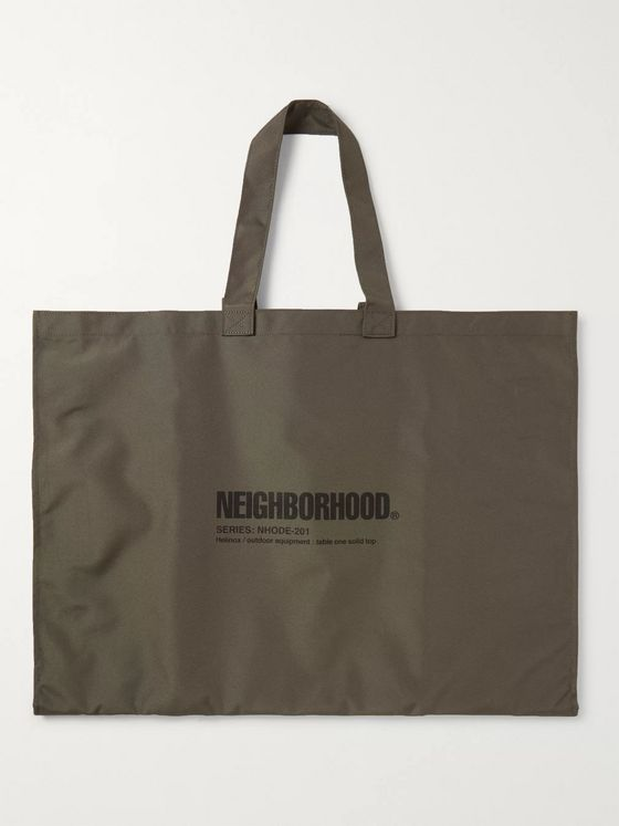 Neighborhood + Helinox Packable Logo-Print Resin Table