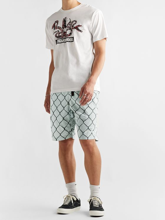 NEIGHBORHOOD + Gramicci Printed Cotton Shorts