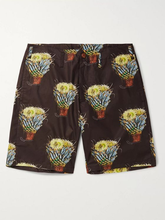 NEIGHBORHOOD Printed Cotton Shorts