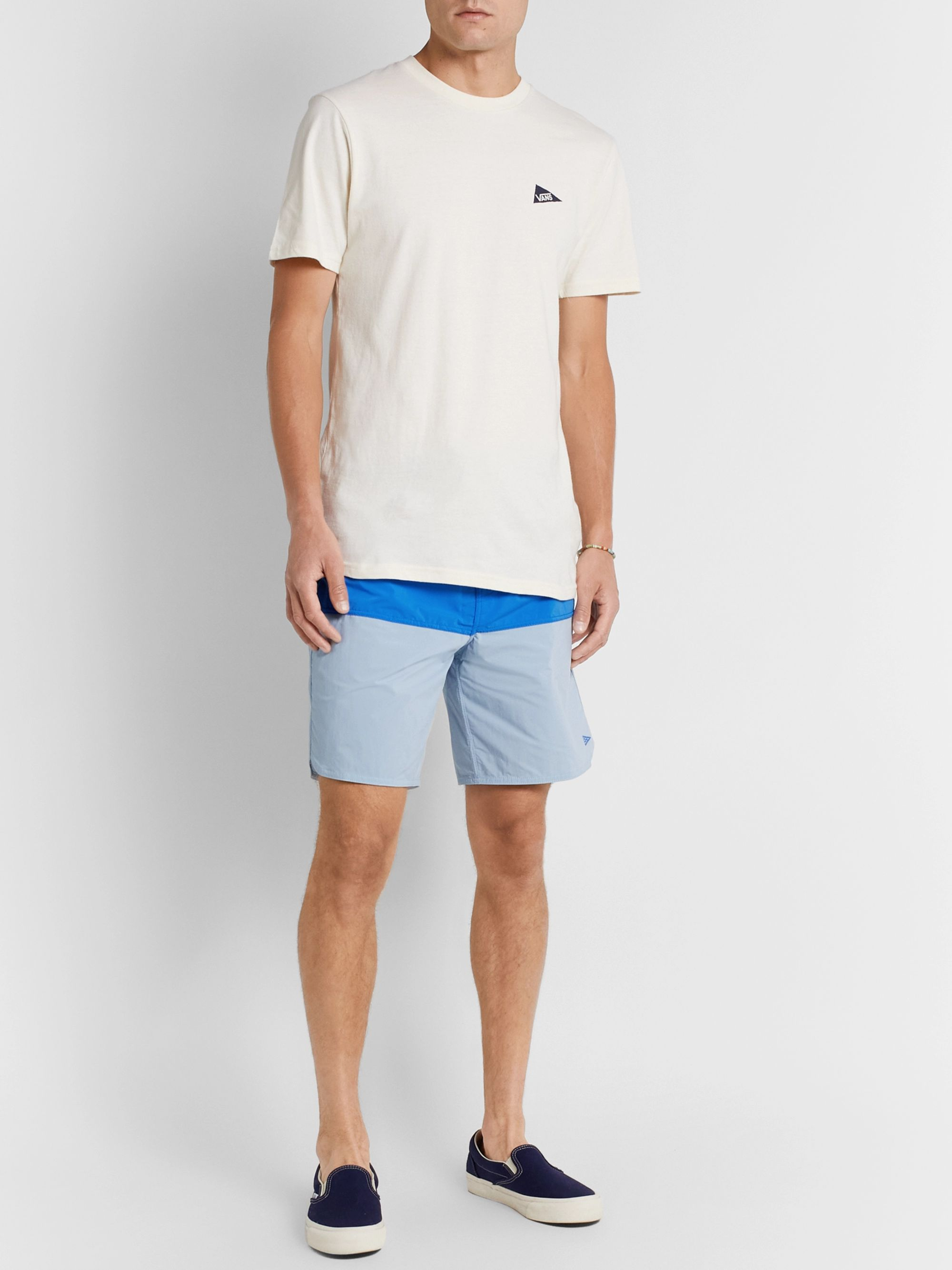 Vans + Pilgrim Surf + Supply Long-Length Color-Block Swim Shorts