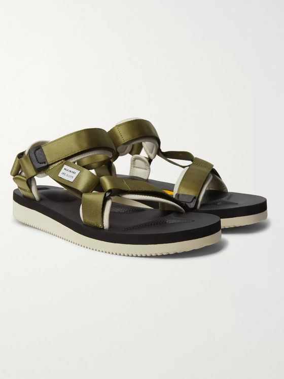 A.P.C. + Suicoke Depa-V2 Webbing and Rubber Sandals