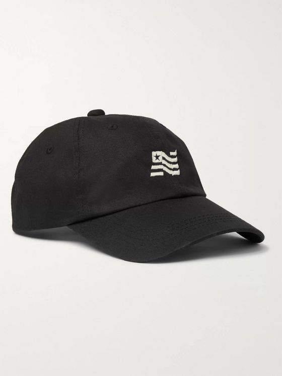 nonnative Logo-Embroidered Cotton-Twill Baseball Cap