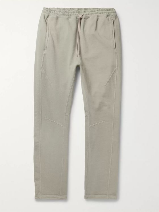nonnative Coach Tapered Loopback Cotton-Jersey Sweatpants