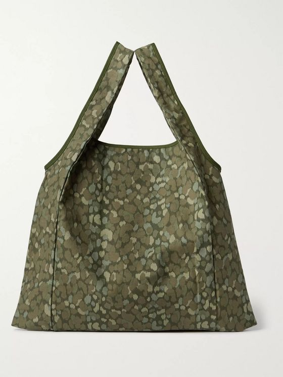 nonnative Printed Cotton Tote Bag