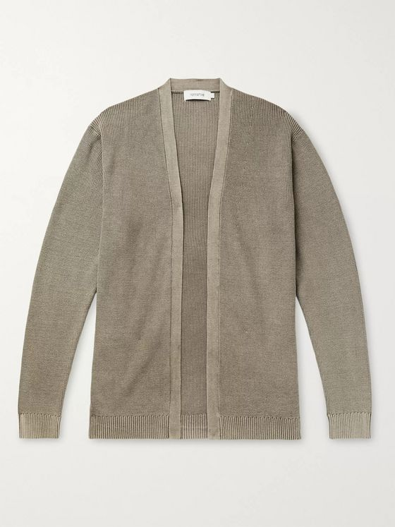 nonnative Trooper Ribbed Cotton Cardigan