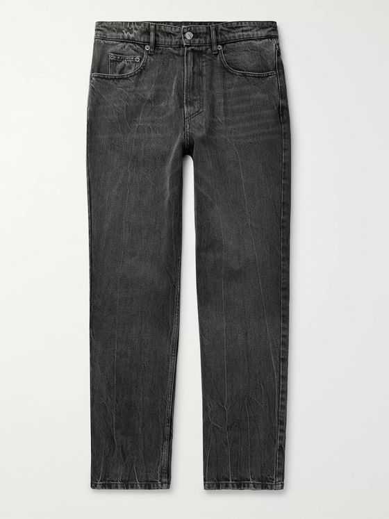 Balenciaga Washed-Denim Jeans
