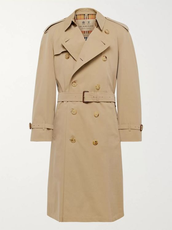 Burberry Westminster Cotton-Gabardine Trench Coat