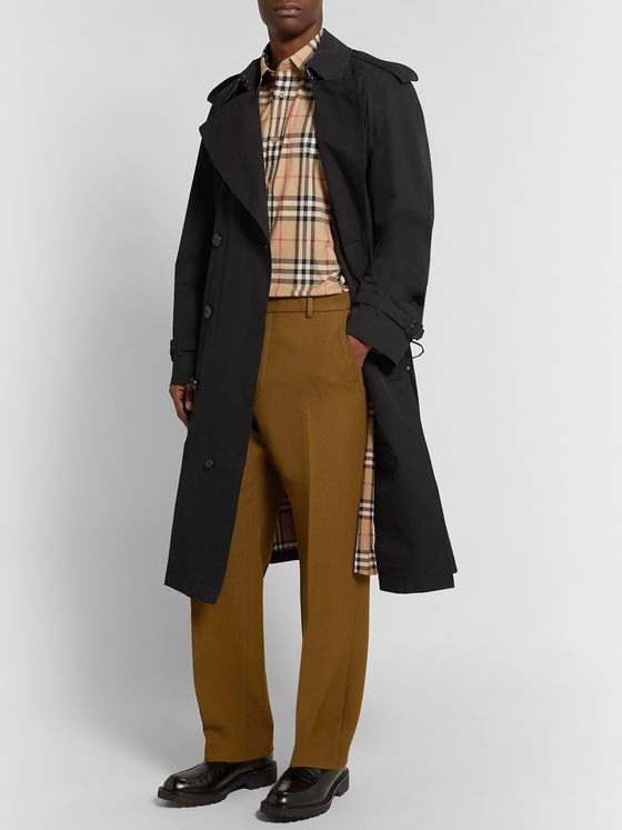 Burberry Westminster Extra Long Cotton-Gabardine Trench Coat