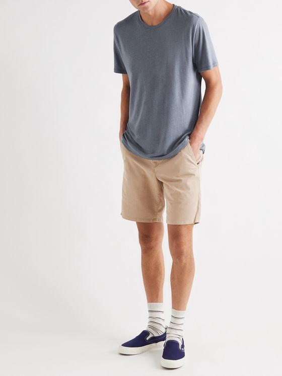 RAG & BONE Slim-Fit Cotton-Blend Twill Chino Shorts