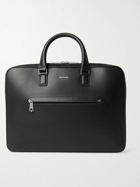 Paul Smith Textured-Leather Briefcase