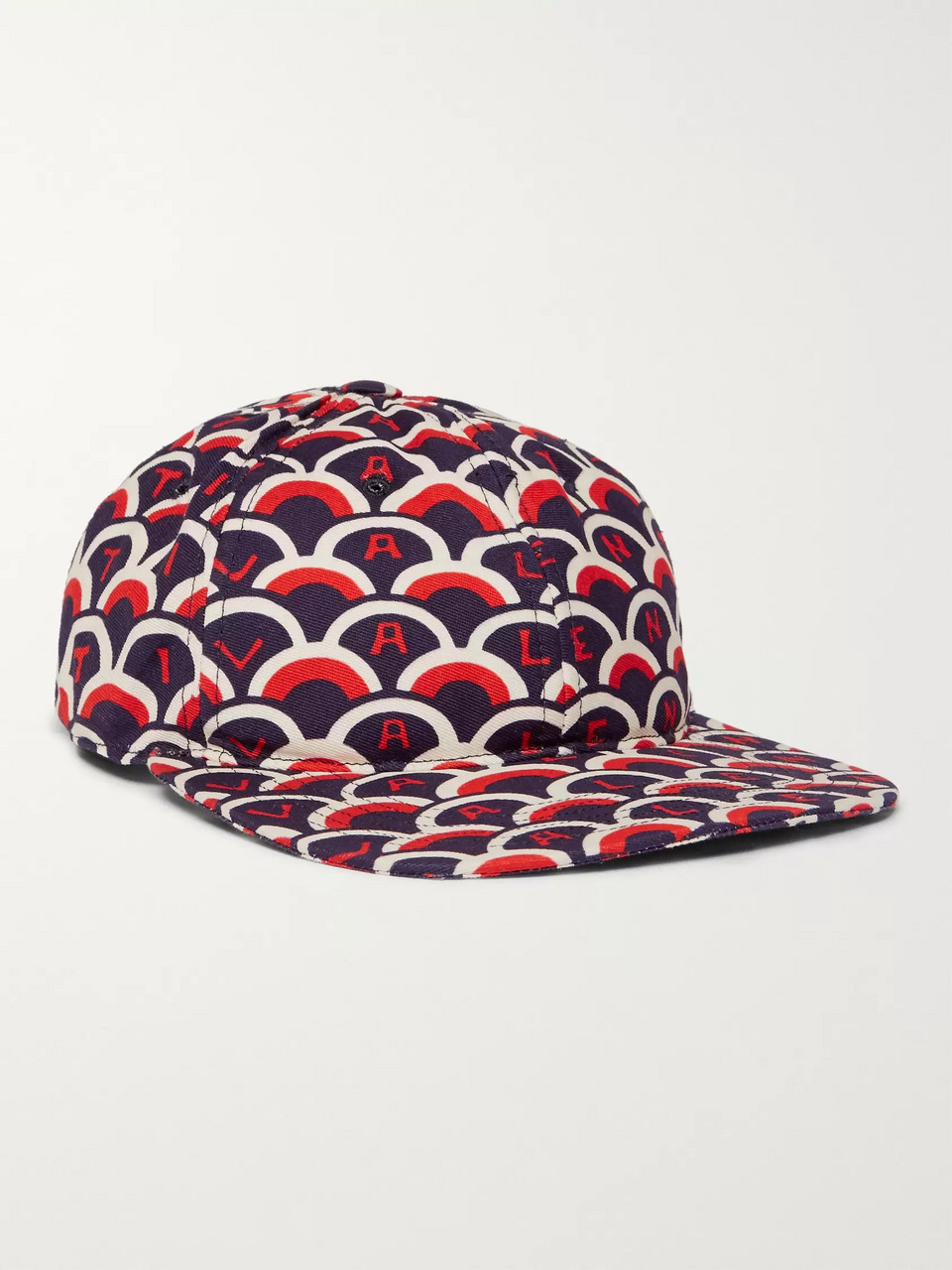 Valentino Printed Cotton-Twill Baseball Cap