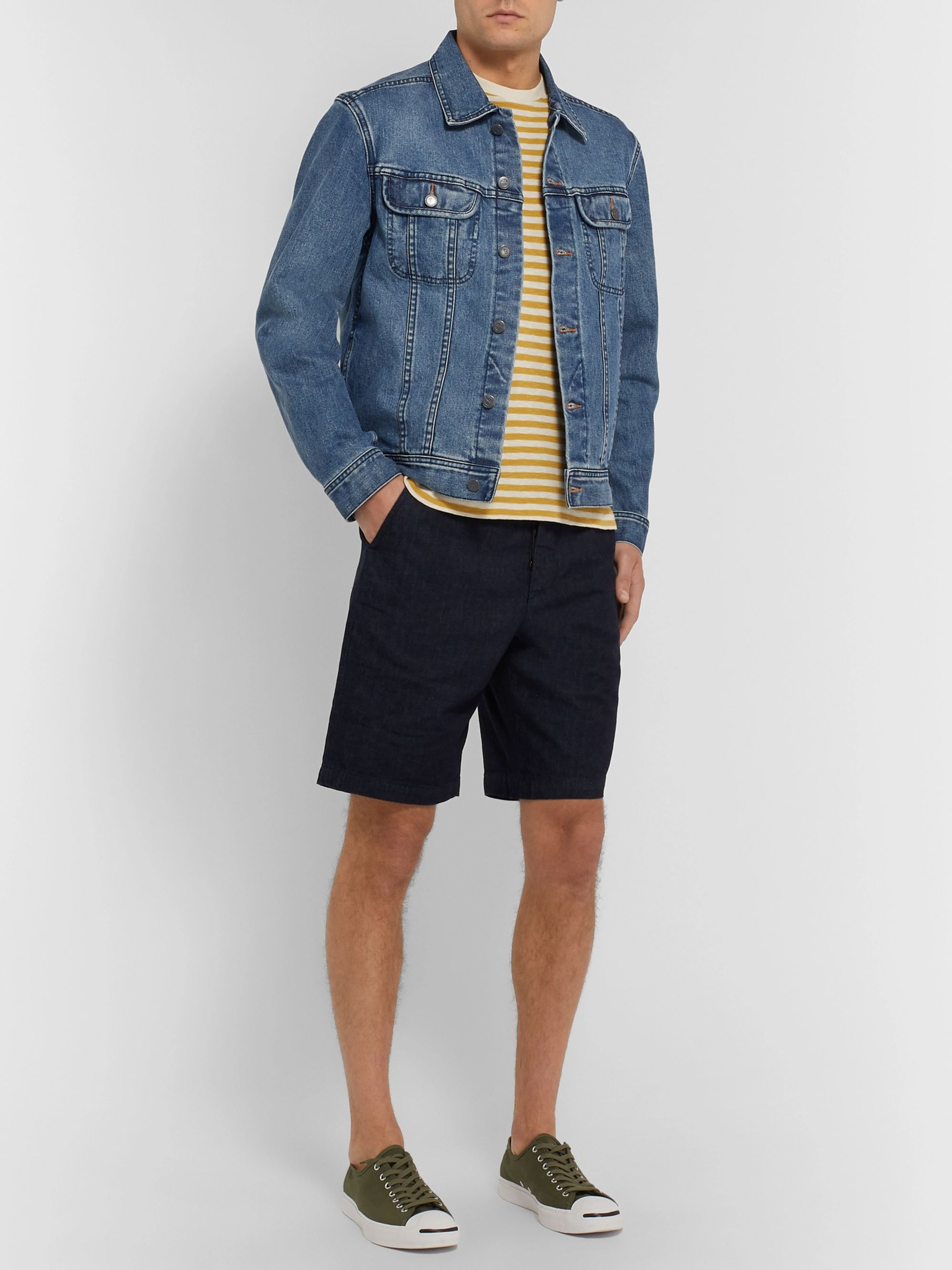 Oliver Spencer Organic Drawstring Shorts