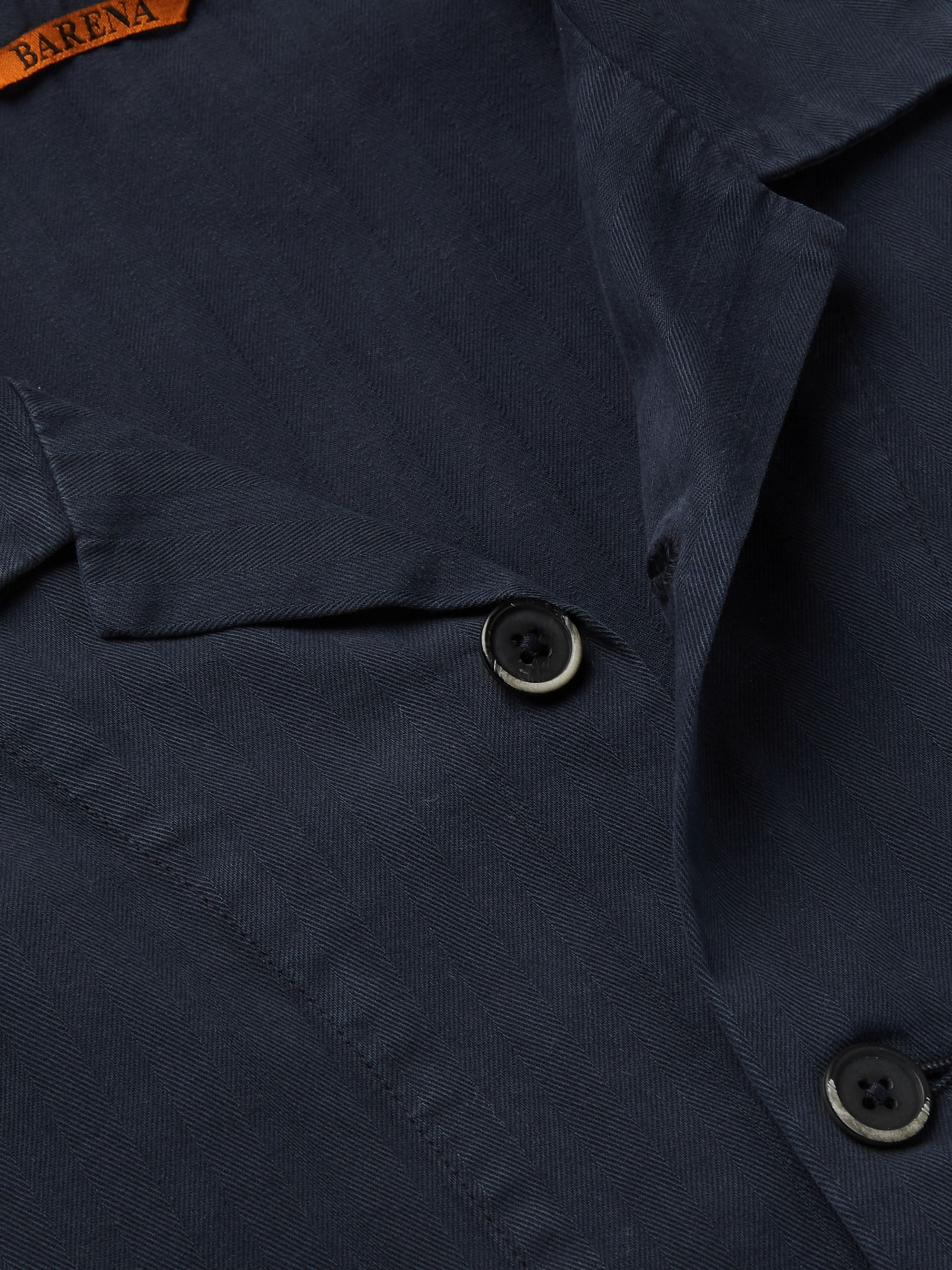 Barena Camp-Collar Cotton Shirt