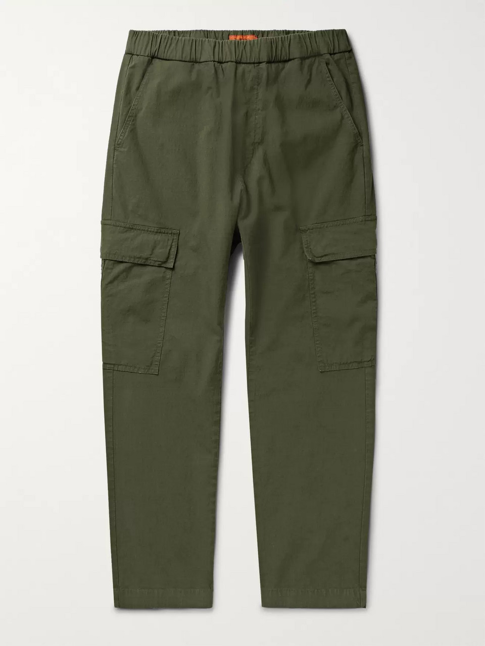 Barena Cotton-Ripstop Cargo Trousers