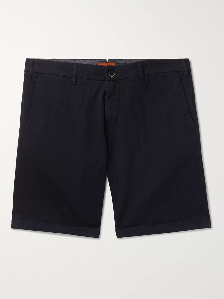 Barena Slim-Fit Cotton-Blend Ripstop Shorts