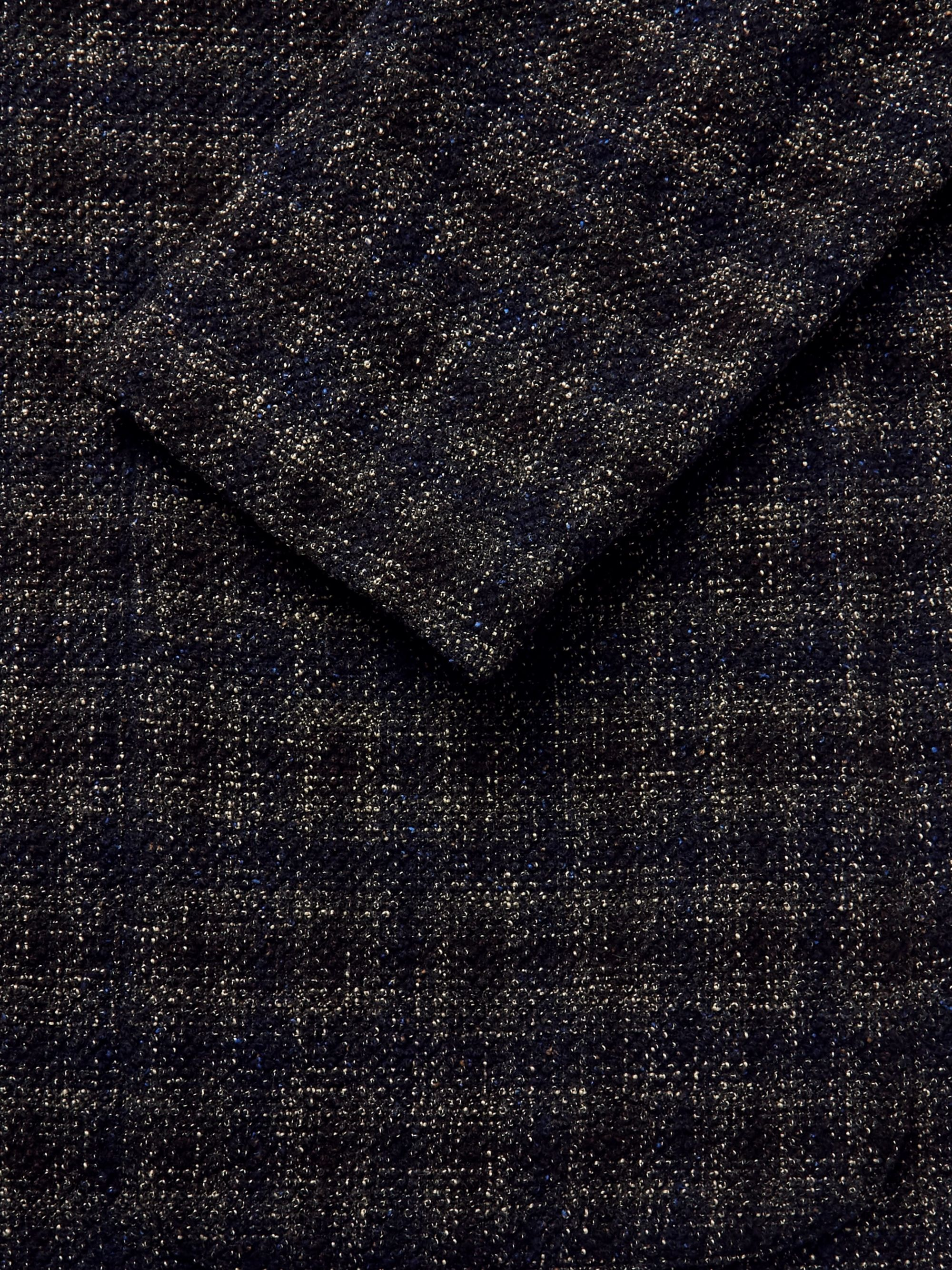 Barena Slim-Fit Checked Woven Blazer