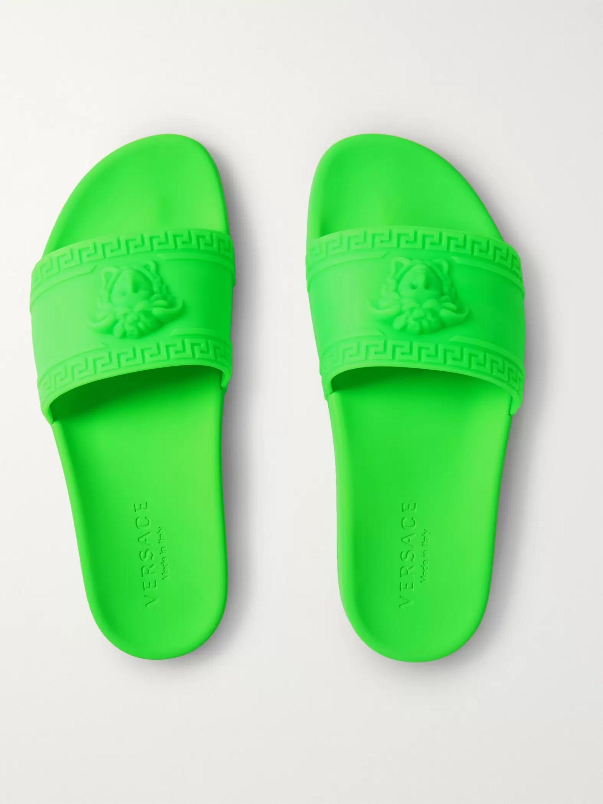 versace neon slides off 57% - www